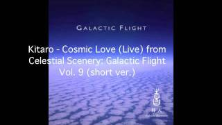 Kitaro - Cosmic Love (live) (short version)
