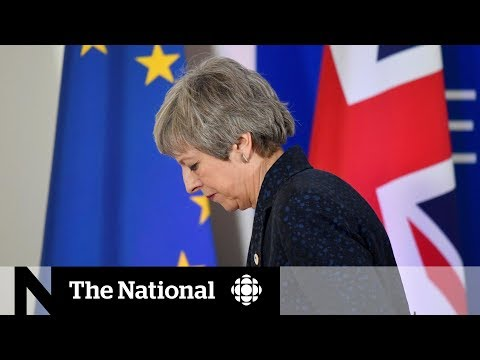 CBC News: The National: Theresa May announces resignation as British PM