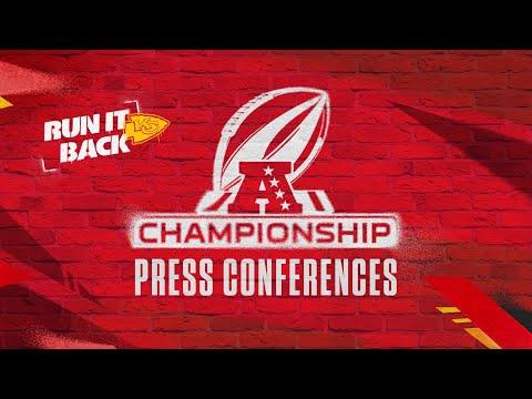 AFC Championship Wednesday Press Conferences | Chiefs vs. Bills