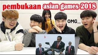 Download lagu DAEBAK!! REAKSI ORANG KOREA NONTON CUPLIKAN PEMBUKAAN ASIAN GAMES 2018 I 2018 자카르타 팔렘방 아시안 게임
