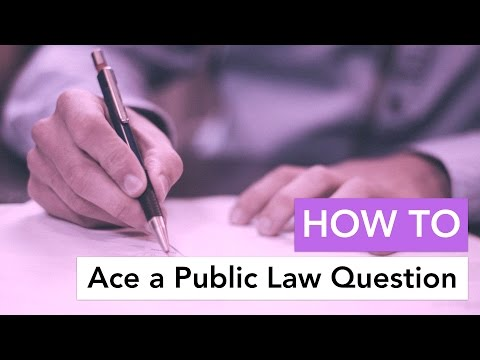How to Ace a Constitutional Law Question