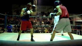 Velada boxeril con Carlos Cruzat en San Carlos - Video 1