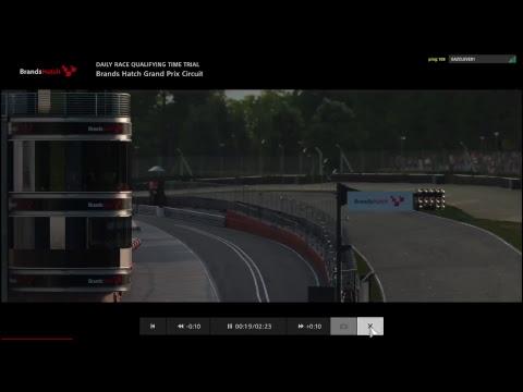 GT Sport Beta Live Races Brands Hatch Indy Gr3 - Logitech G29 - PS4 PRO 1080p