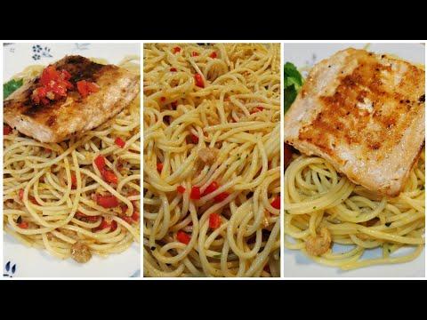 Spaghetti Salmon Ebi Ala Ussy Sulistiowaty & Bioskop Premiere XXI