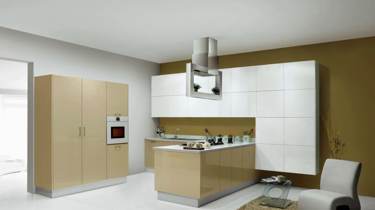 Sleek Modular Kitchen Furniture Designs