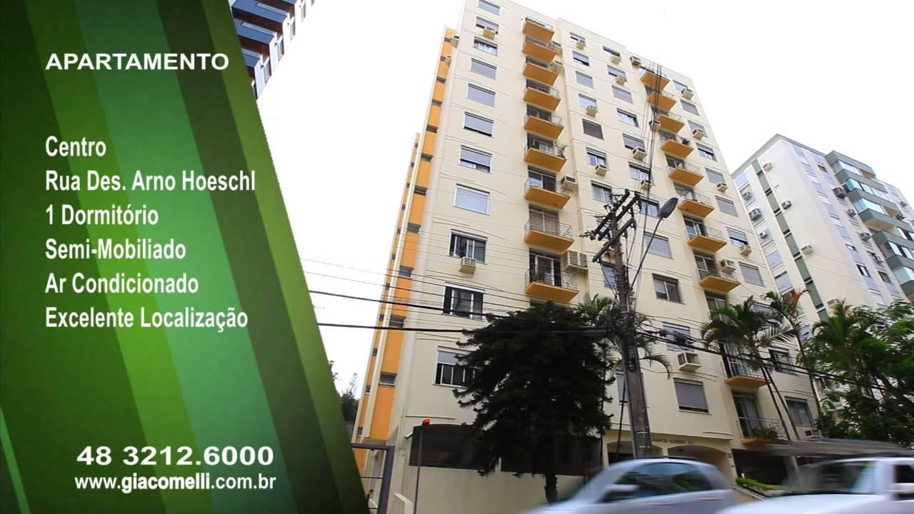 Apto 203 Ed Campos Elisios -- Rua Desembargador Arno Hoeschl 212 -- Centro