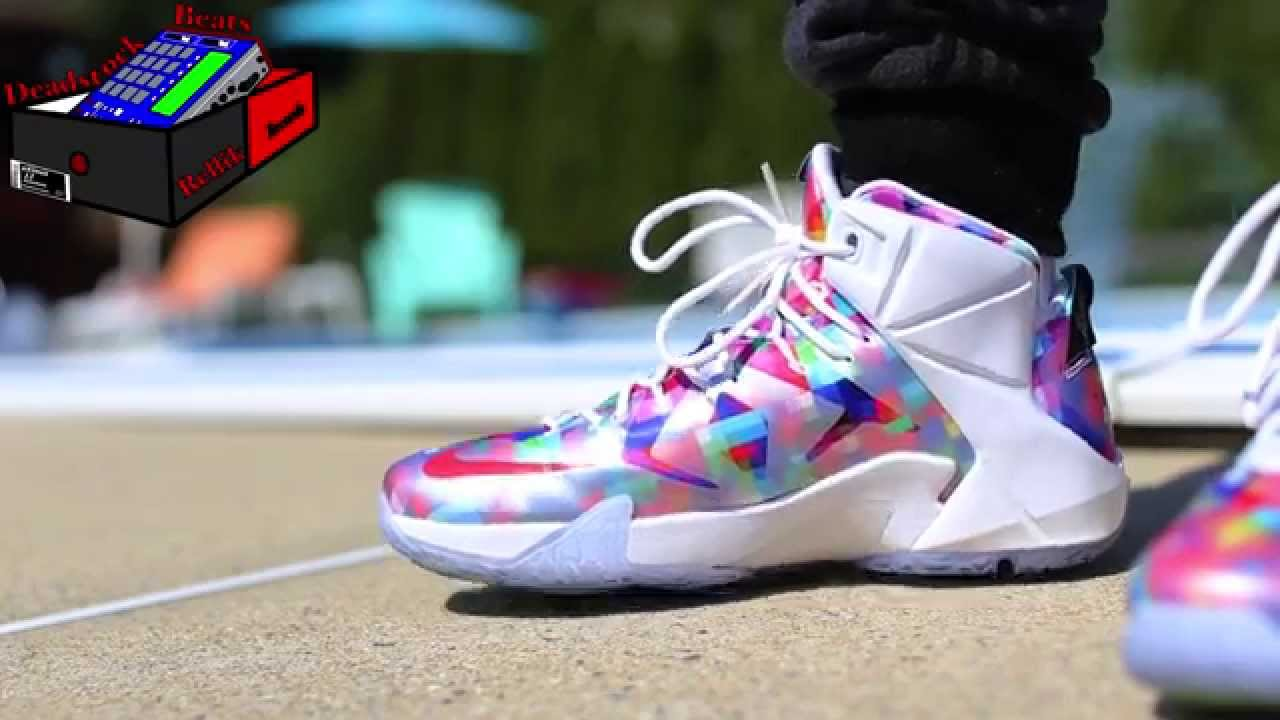 Today s Kicks 9-7-15 Nike Lebron 12 Finish Your Breakfast On Feet - YouTube ae56234c3c3a