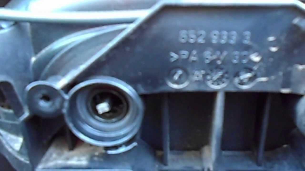 Впускной коллектор 2.4 BDW