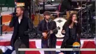 ♫ Lady Antebellum - Compass ♫ (Today Show 11 -11 -2013)