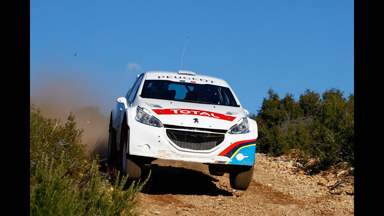 Peugeot 208 Type R5 With Bryan Bouffier And Xavier Panseri