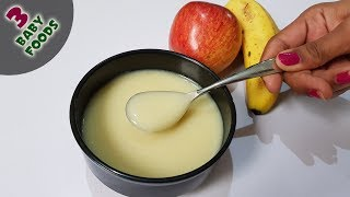 3 Baby food Recipes for 6 Months+ babies  Weight gaining &amp Easy Digestive recipes