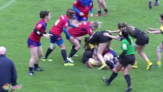 Rugby Féminin 1:2 Finale Championnat de France Stade Montois vs Béziers