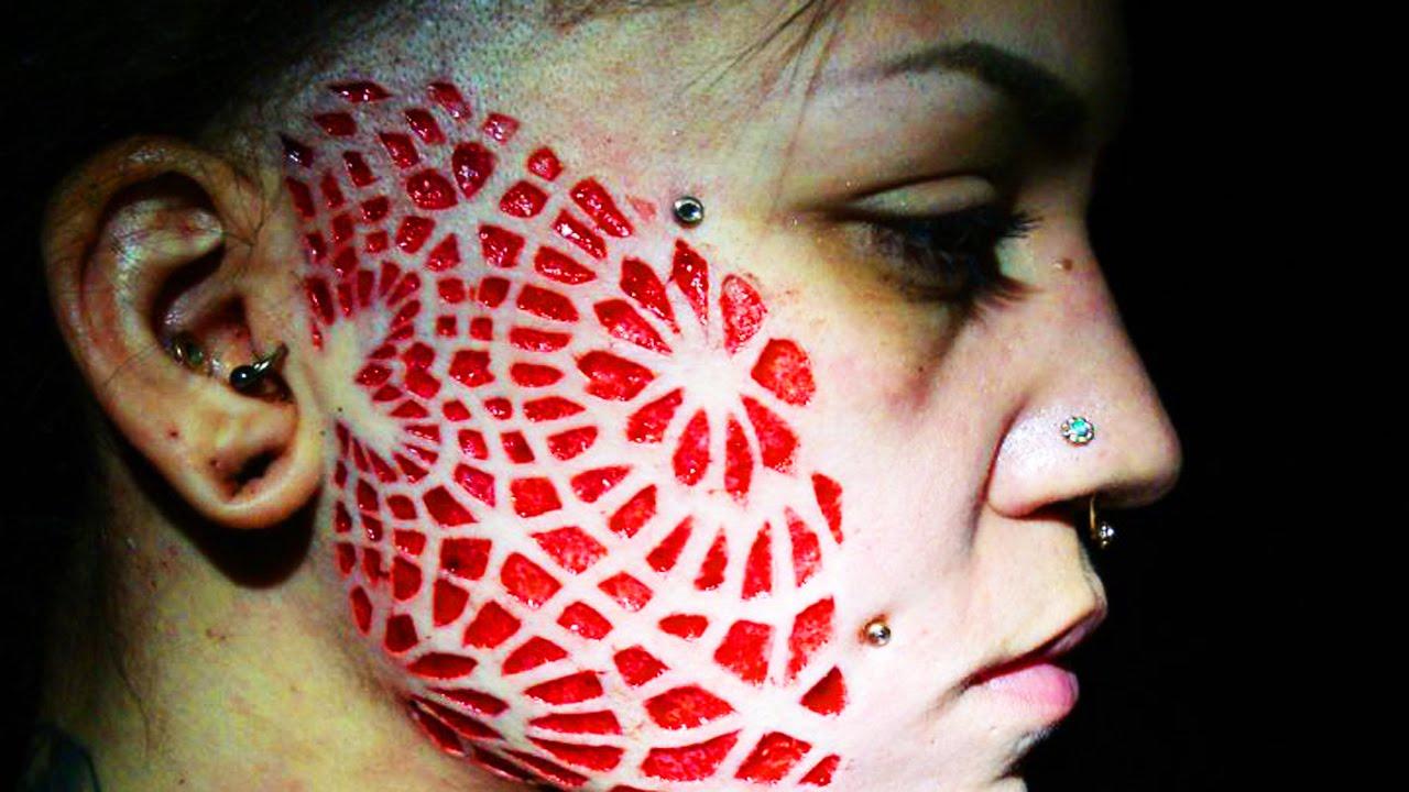 Trypophobia Tattoo