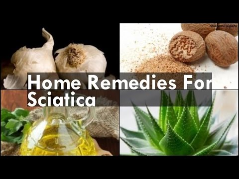 how to get rid of sciatic nerve pain naturally