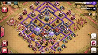 Clash of Clans [12] TH 8 Southern Teaser and the Barch Strategy