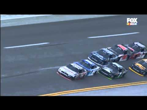 Nascar XFINITY Series 2016. Talladega Superspeedway. Joey Logano Huge Crash on Wild Finish