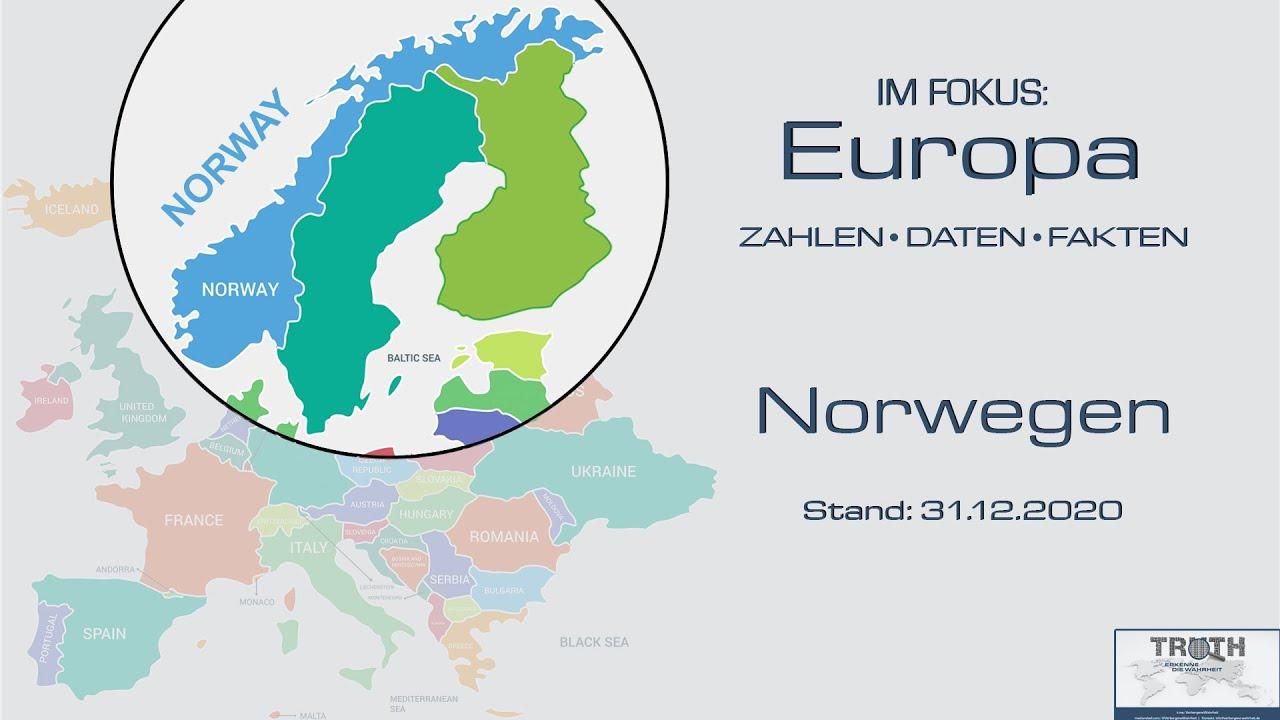 Norwegen: Zahlen - Daten - Fakten (Stand: 31.12.2020)
