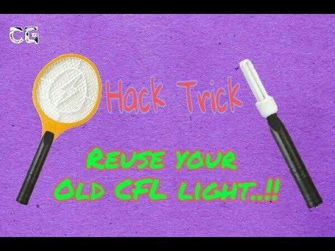 Hack Trick !! Reuse Your Old CFL Light