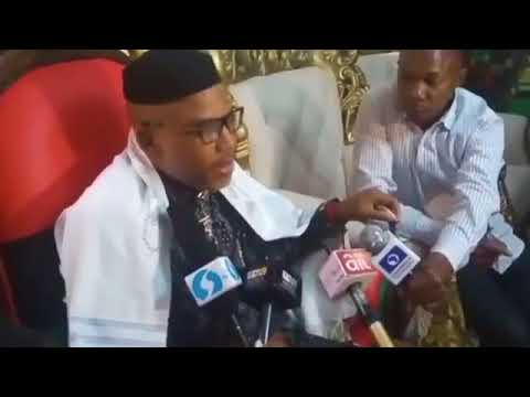Nnamdi Kanu Interview on the Umuahia Military Show of Force