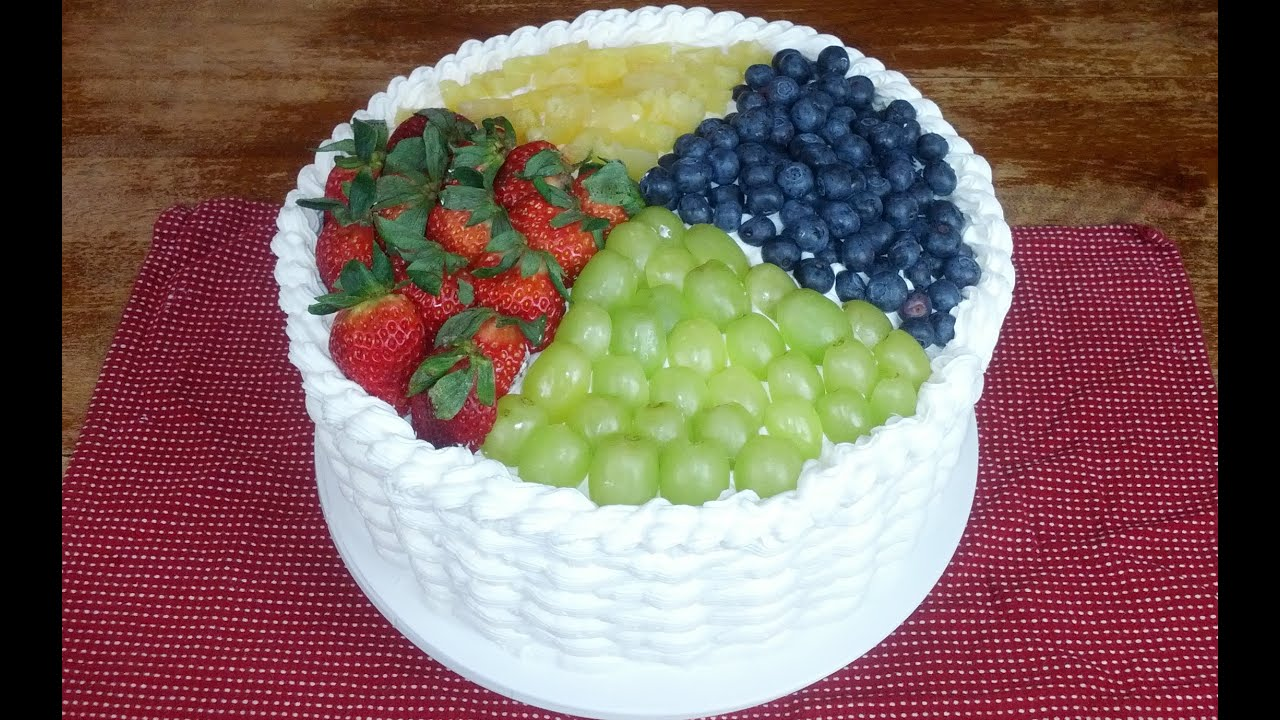 fruit basket cake fruit basket cake 4389