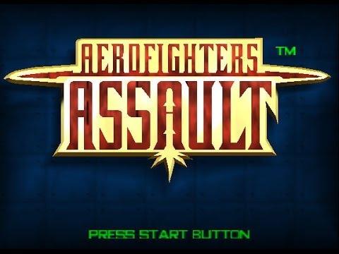 N64 Aero Fighters Assault Pacific Ocean