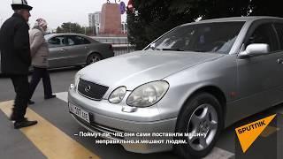 """Девушка на коляске поцарапала машину"" — соцэксперимент в Бишкеке"