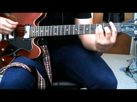 Kings of Leon Dancing On My Own - Guitar Cover