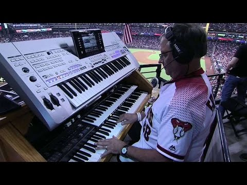 SD@ARI: National anthem is played at Chase Field