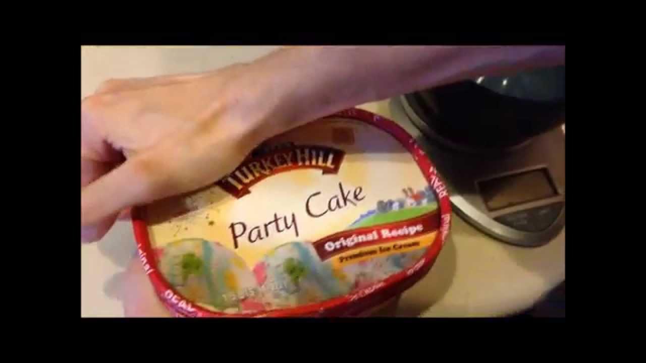 Turkey Hill Party Cake Ice Cream Reveal Youtube