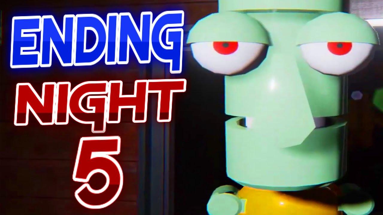 Five Nights at the Krusty Krab - Fnaf Games