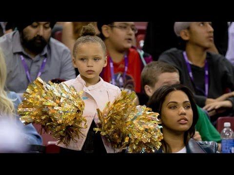 Riley Curry's message to Steph following Game 7 NBA Finals loss
