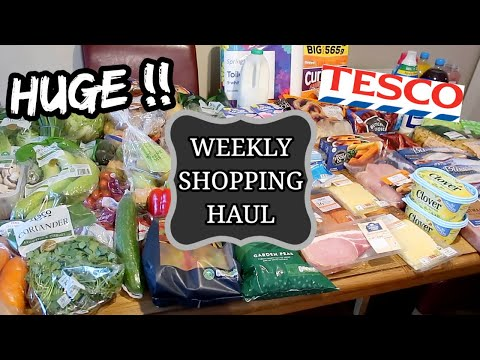 huge-tesco-grocery-haul-&-meal-plan