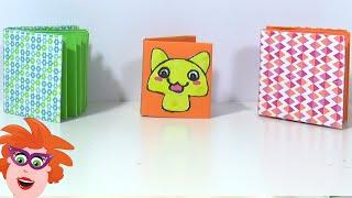 Origami boekje vouwen van papier - leuk om te maken voor Vaderdag