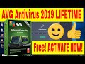 AVG Internet Security 2019 Lifetime Activation Serial Key - AVG License Key✔️
