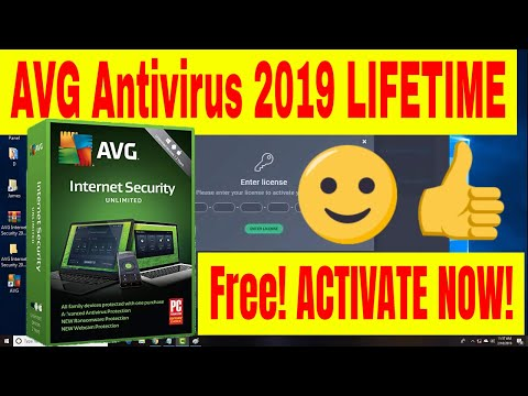 AVG Internet Security 2019 Lifetime Activation Serial Key - AVG License Key✔️