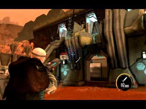 Red Faction Armageddon DX11 разрушения - первая карта - 2