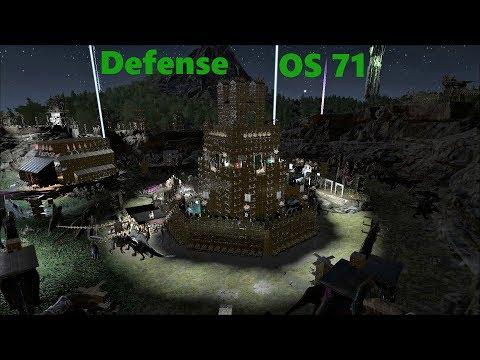Ark Survival Evolved Official: Server 71 Defense Vs. CG