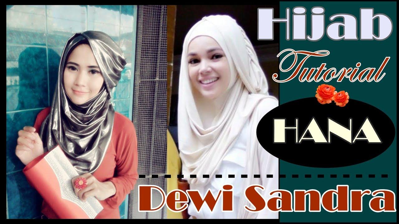 Tutorial Hijab Hana CHSI Dewi Sandra RCTI By Didowardah 45