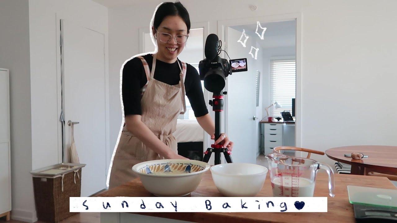 vlog | 매일 집에서 베이킹 촬영하는 나날들