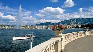 Отдых в Швейцарии. Какой-то парк в Женеве/ Holidays in Switzerland. Some park in Geneva