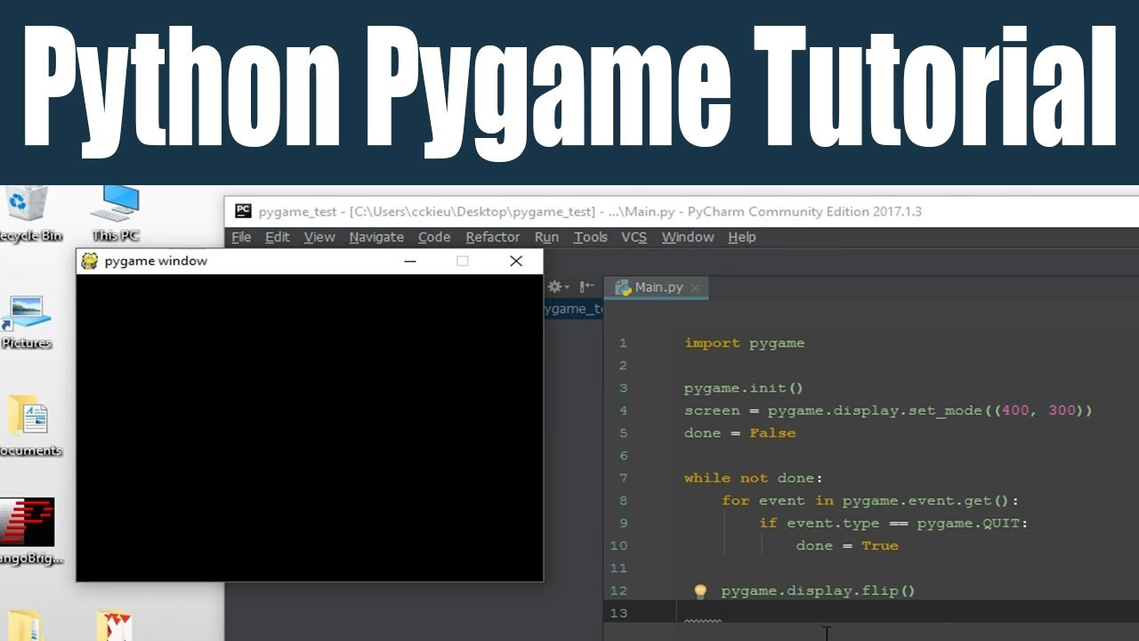 Tutorial: Quick and Easy Install of Python and Pygame 3 2 for Windows PC
