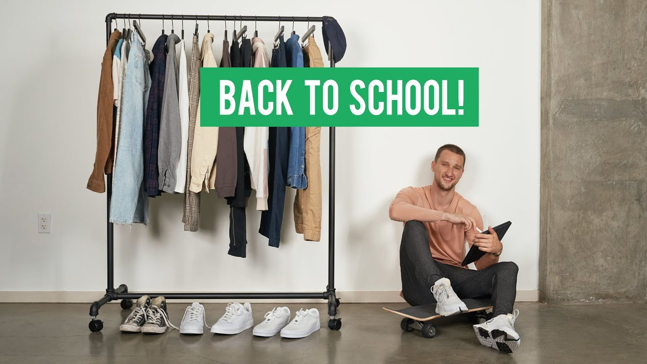 [VIDEO] - 18 Fresh Back To School Pieces for Every Student | Men's Fashion BTS Haul 4
