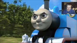 Stitch reacts to Thomas and friends big world big adventure