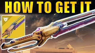 Destiny 2: How to Get The WORLDLINE ZERO Exotic Sword! | Warmind Expansion