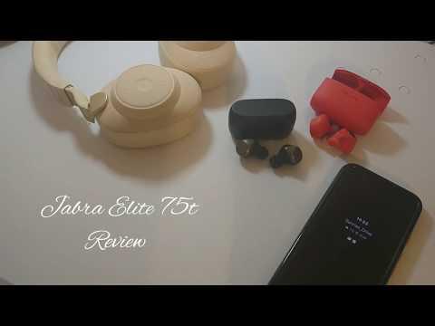 Review - The Jabra Elite 75t True Wireless Best in class. #JabraElite75t #Truewireless #Tech