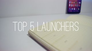 Top 5 Android Launcher of 2015!