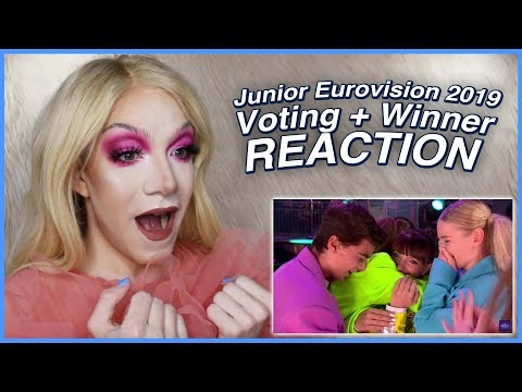 Junior Eurovision 2019: Voting Results + Winner REACTION
