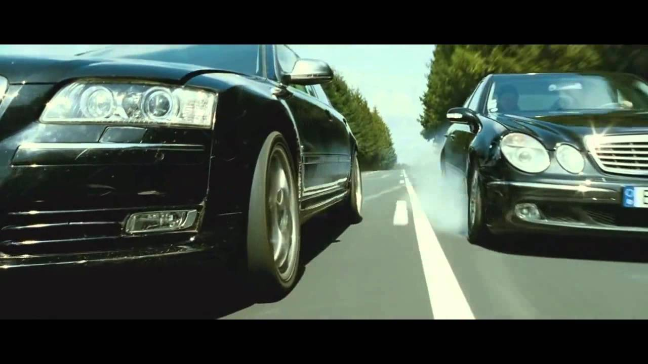 transporter 3 audi a8 vs mercedes e class youtube. Black Bedroom Furniture Sets. Home Design Ideas