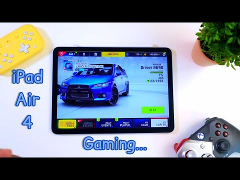 How is Gaming on iPad Air 4(2020)???