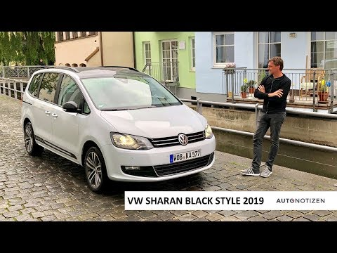 VW Sharan Black Style TDI 4Motion (177 PS) 2019 - Review, Test, Fahrbericht
